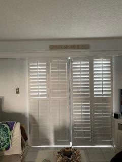 Adjustable sliding shutters